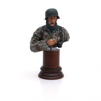 Infanterist in den Ardennen