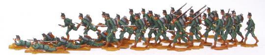 Jäger im Angriff (ab 1915)