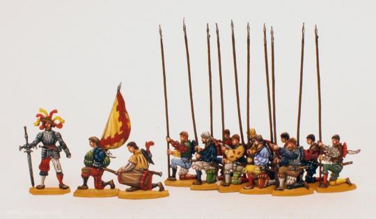 Betende Landsknechte (vor der Schlacht)