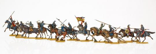 Mongolen und Tataren in der Schlacht bei Liegnitz