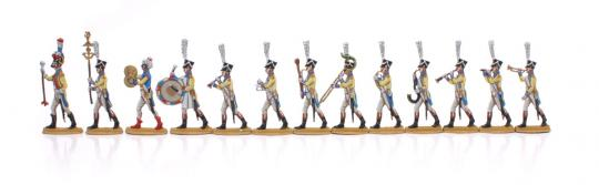 Musiker der Linien-Infanterie bis 1812