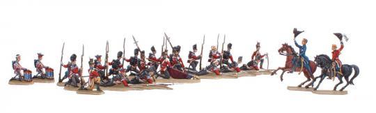 Britische Garde bei Waterloo