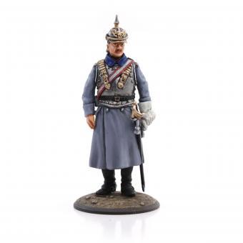 Cuirassier Officer in Overcoat