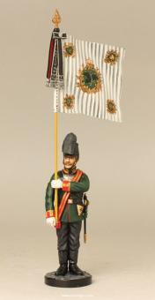 Garde-Jäger, Fahnenträger