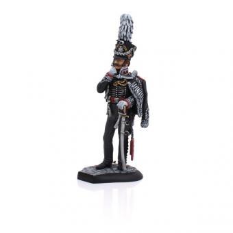 Leibhusaren, Offizier um 1812