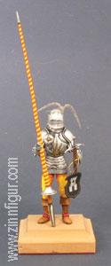 Diverse Hersteller: Turnierritter mit Lanze und Schwert, 15. Jh.