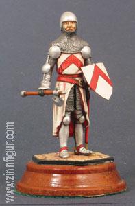 Diverse Hersteller: Ritter mit Streitaxt, 14. Jh.