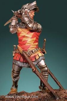 Edelmann mit Schwert bei Agincourt