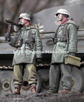 WSS MG-Trupp bei Kharkov