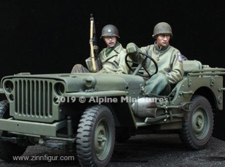US Soldaten für Jeep