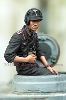 Deutscher Panzerkommandant im Sommer #2