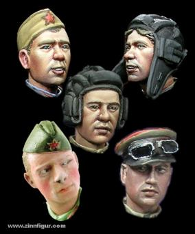 WW2 Russische Köpfe Teil 2