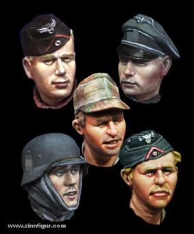 German Heads Set 1