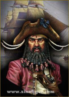 Blackbeard, 1718, Pirat