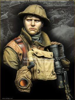 British Lewis Gunner - WWI