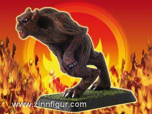 Werwolf, rennend