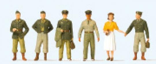 US-Soldaten. Fünfziger Jahre