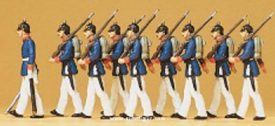Preußische Infanterie, Parade