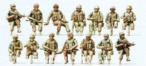 US-Army Soldaten, modern.