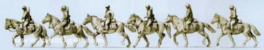 Cavalry mounted