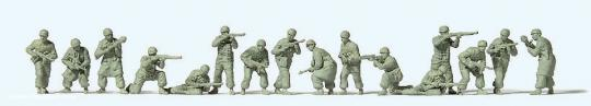Fallschirmjäger im Gefecht