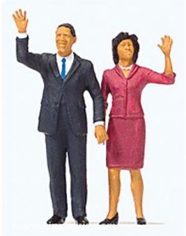 USA-Präsident Obama und First Lady
