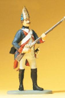 Grenadier, stehend, mit Gewehr