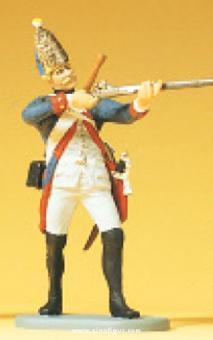 Grenadier, stehend, schießend