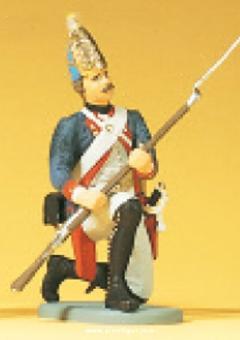 Grenadier, kniend, mit Gewehr