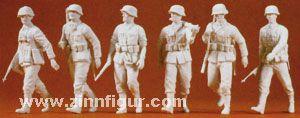 Vorgehende Infanterie