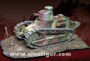 FT-17 Panzer mit 37 mm Kanone