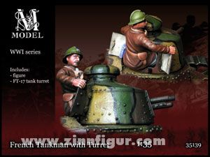 Panzersoldat mit FT-17 Turm