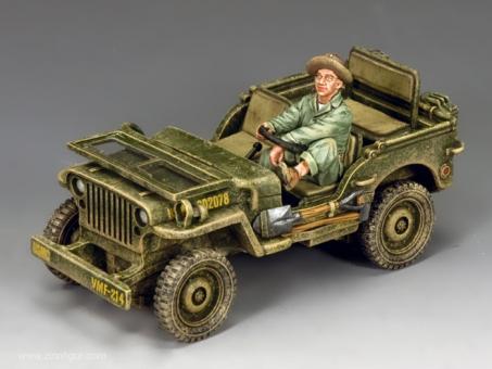US Marine Corps Jeep