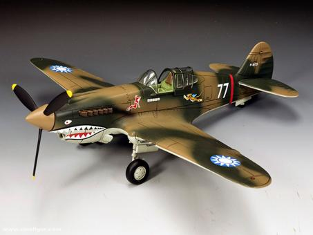 """P-40 """"Flying Tigers"""""""