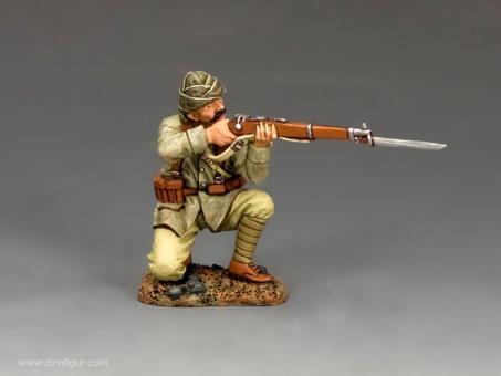 Türkischer Soldat - kniend, feuernd
