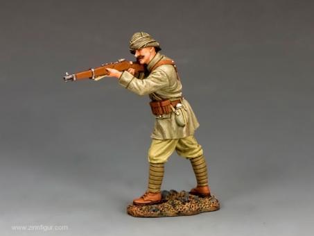 Türkischer Soldat - feuernd