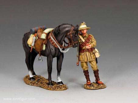 """""""The Morning Snack"""" - Australian Light Horse"""