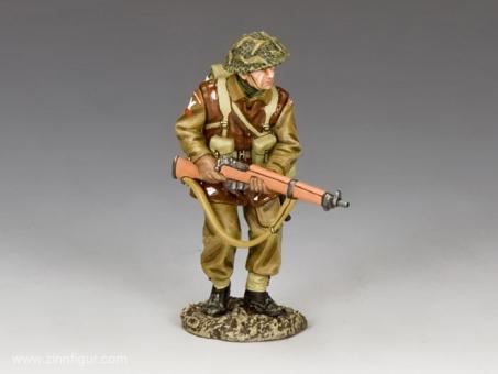 Vorgehender Britischer Soldat