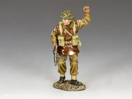 """Britischer Sergeant """"Stop!"""""""
