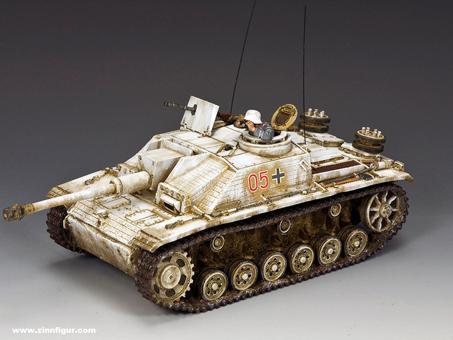 StuG III - Wintertarnung