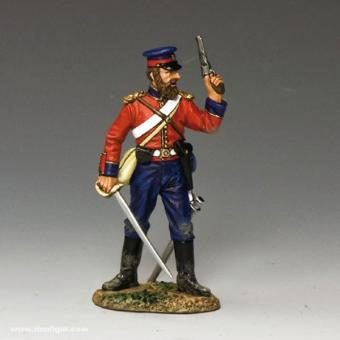 Officer with Pistol and Sword