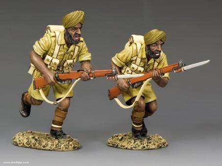 Sikhs im Angriff - 8. Armee