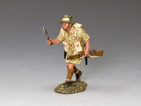 Gurkha mit Kukri - angreifend
