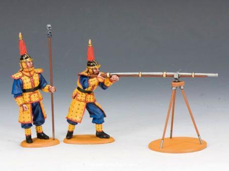 Kaiserliches Luntenschloss Musketen-Team B