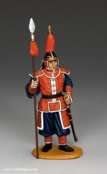 Stehender Gardist mit Speer - Drachenregiment