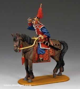 Offizier zu Pferd - Drachenregiment