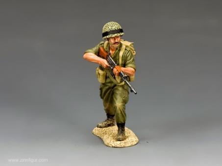 Para Rifleman Advancing