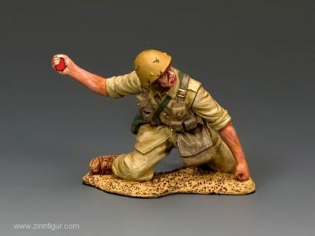 "Fallschirmjäger - Granate werfend ""Division Folgore"""