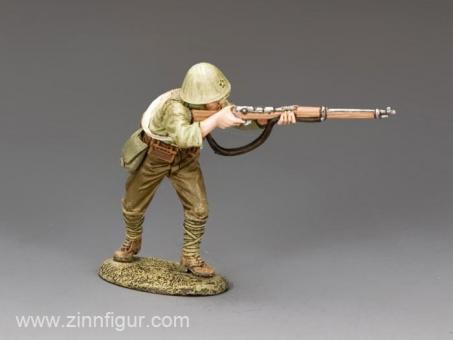Soldat - vorgehend, feuernd