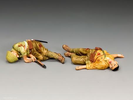 Gefallene Japanische Soldaten - Set 1